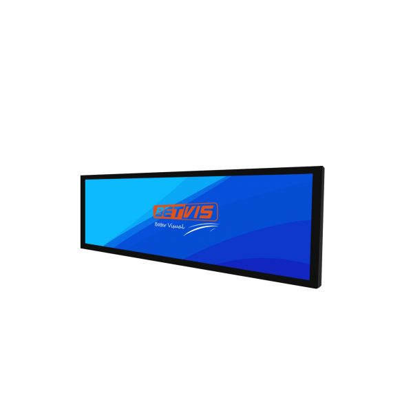 28.6 inch Ultra wide Stretched bar lcd display monitor-Betvis digital signage products (1)