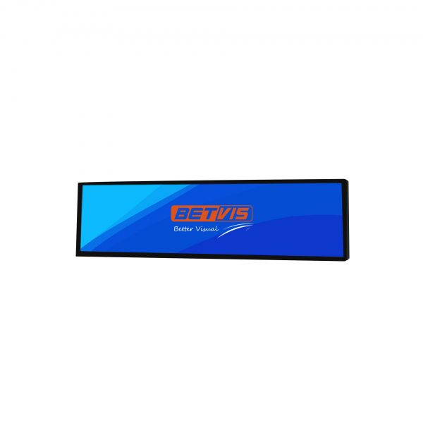 28.6 inch Ultra wide Stretched bar lcd display monitor-Betvis digital signage products (2)