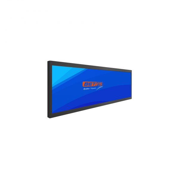 38 inch Ultra wide Stretched bar lcd display monitor-Betvis digital signage products (1)